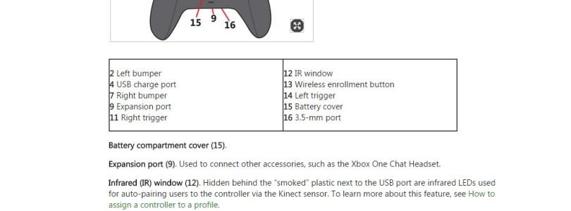 Revelado o novo controle do Xbox One; Imagem e Informações