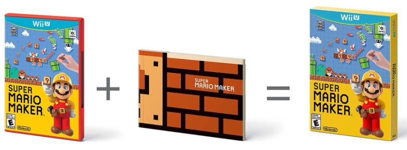 Super Mario Maker virá com livro com artes