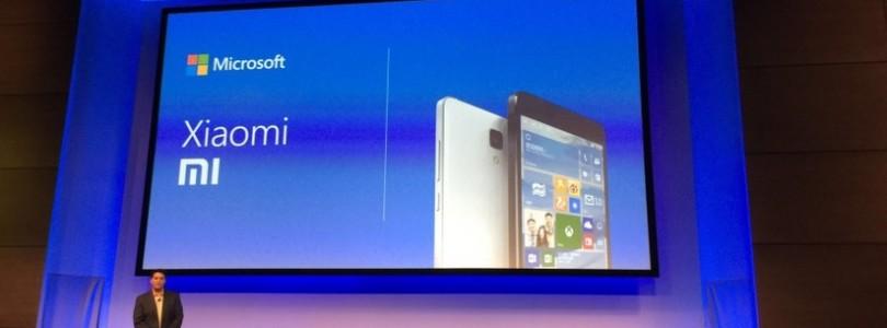 Continuum, Xiaomi com Windows 10 Mobile e build 10240