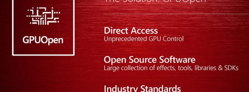 AMD lança sua resposta ao GameWorks da Nvidia: empresa apresenta o GPUOpen