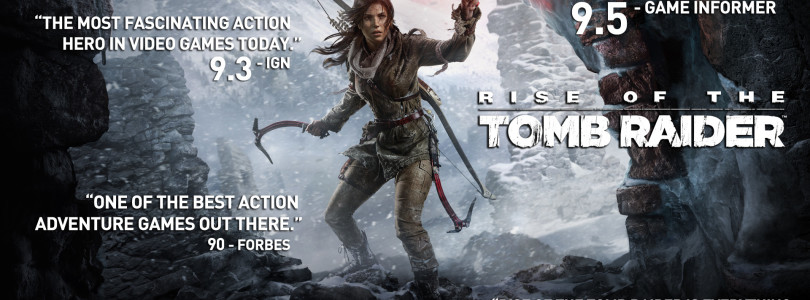 Rise of the Tomb Raider vende mais no PC do que para a marca Xbox