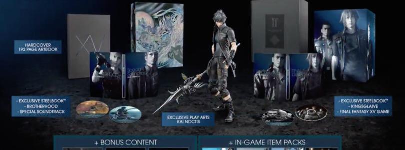 Final Fantasy XV: Confira as duas edições de colecionador do game