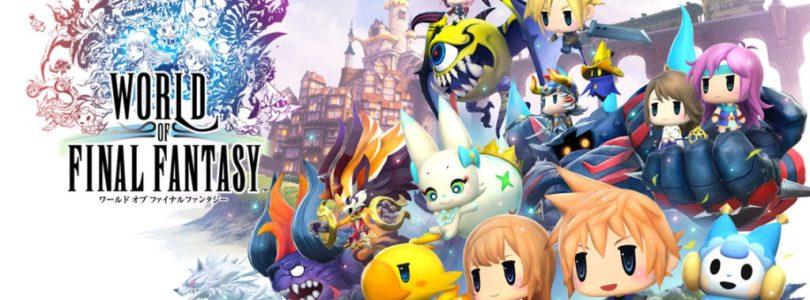 Conheça A Edição Limitada De World Of Final Fantasy