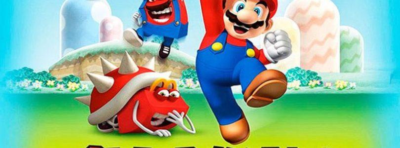Super Mario será o brinde do McLanche Feliz em novembro