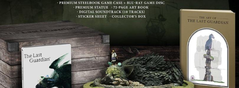Sony faz abertura de caixa da edição de colecionador de The Last Guardian