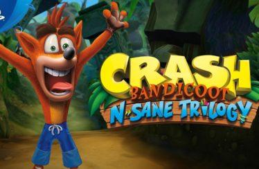 Crash Bandicoot N. Sane Trilogy é exclusivo do PlayStation 4