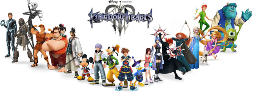 A melhor ordem para jogar Kingdom Hearts