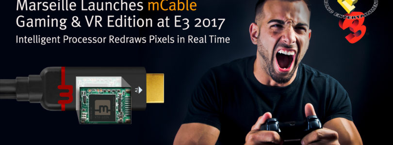 Marseille lança: mCable Gaming Edition, cabo HDMI com anti-aliasing SMAA alimentação via USB